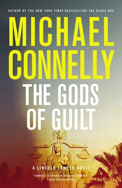 The Gods of Guilt by Michael Connelly Book jacket for Talking Volumes