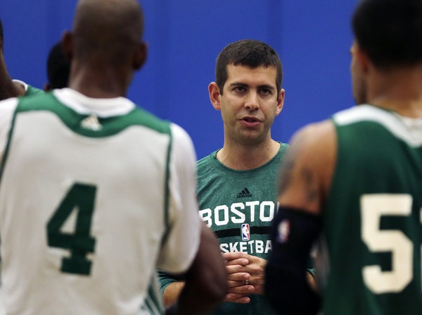 New Celtics coach Brad Stevens has taken on a precarious journey — making the leap from college coaching into the NBA, where he is younger than some