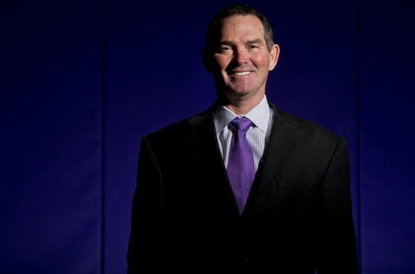 Minnesota Vikings new head coach Mike Zimmer.