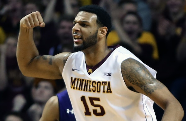 After Andre Hollins went out because of a sprained ankle against Wisconsin, Mo Walker responded with an 18-point, nine-rebound game.