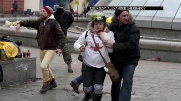 Ukrainian victim's 'final' tweet goes viral