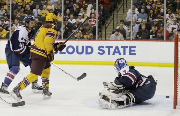 Rau provides final blow, continues to step up for the Gophers