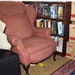 Chair where Byron Smith sat in his basement. Evidence photo.