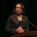 Condoleezza Rice early in her speech Thursday evening at Northrop Auditorium key to photo gallery online. a;lsdj ;lkasdjf ;laksfj ;aslfjas; js;fj.