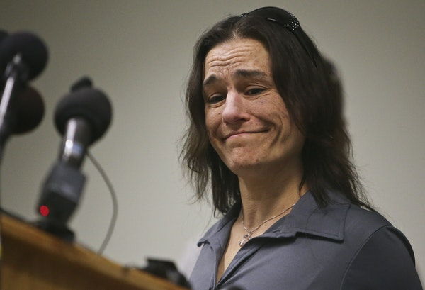 Kimberly Brady, mother of Nick Brady, became emotional while speaking after Byron Smith was found guilty of killing her son.