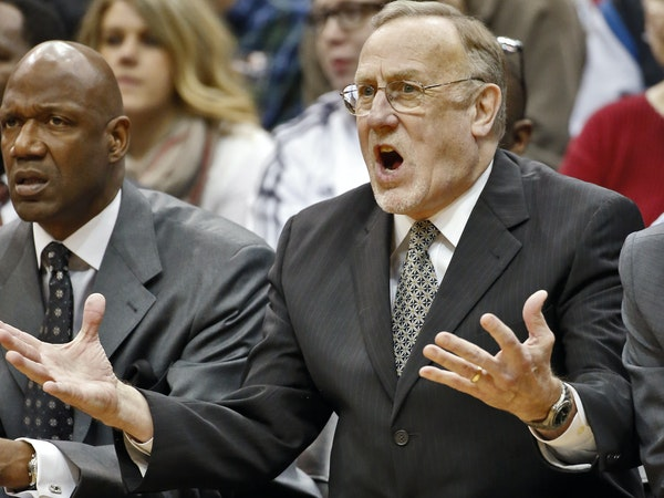 Rick Adelman protested in the final game of the Wolves season — and possibly the final game of his Wolves coaching career.