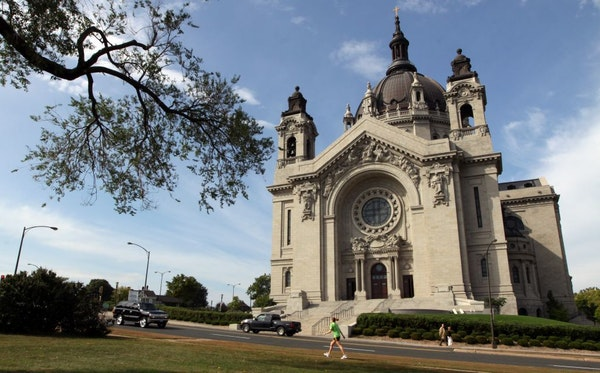 The Cathedral of St. Paul. The Archdiocese of St. Paul and Minneapolis is asking parishoners to open their wallets to help pay off staggering debt fro