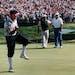 Payne Stewart sinks his final putt in the 1991 U.S. Open at Hazeltine National in Chaska.