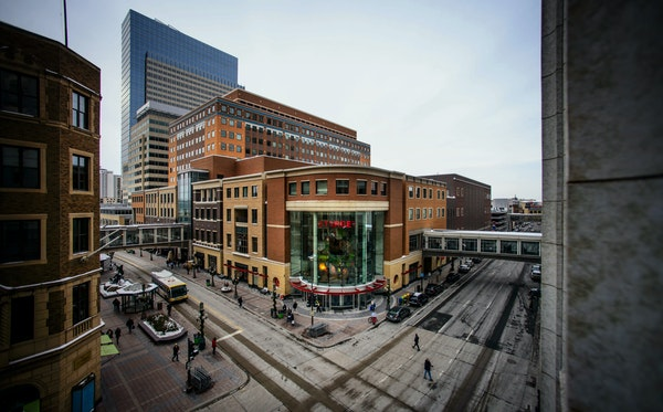 Target's top executives have moved onto one floor of the company's downtown Minneapolis headquarters.