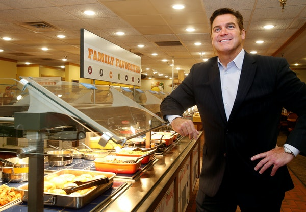 Anthony Wedo, CEO of Ovation Brands, led the revival of the buffet restaurant chain. One major revamp Wedo made sure to implement: modern decor.