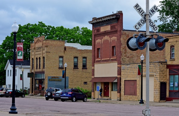 Jordan is a small city in Scott County.