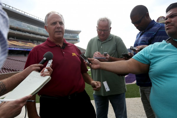 With the Vikings going, Gophers associate AD Scott Ellison will focus on the Athletes Village next.
