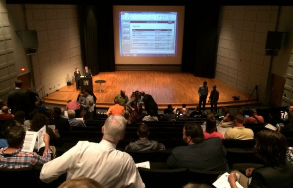 A recent meeting by Minnesota state health officials for people to begin gearing up for medical marijuana drew a large crowd.