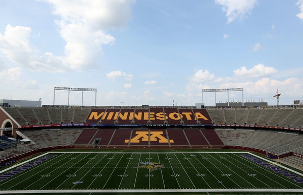 The Vikings will be tenants at the University of Minnesota's TCF Bank Stadium for the next two years while the NFL team's new home is built on the