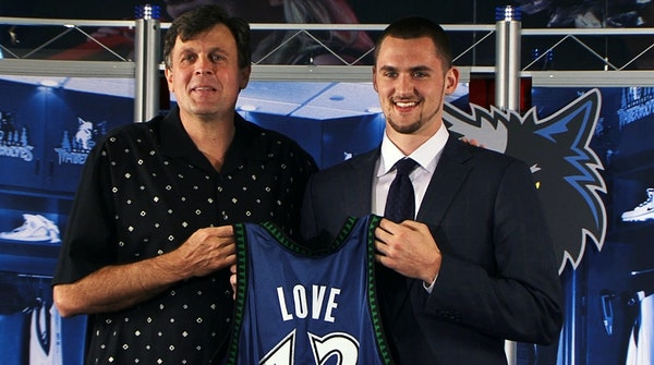 Kevin McHale, then the Timberwolves' vice president of basketball operations, was the one who traded for 19-year-old UCLA star Kevin Love in the sum