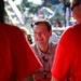 Gubernatorial candidate Jeff Johnson was among the candidates seizing the moment and working the crowds Thursday at the State Fair.