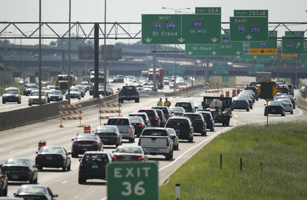 FILE -- Millions of Americans will hit the roads for Labor Day weekend.