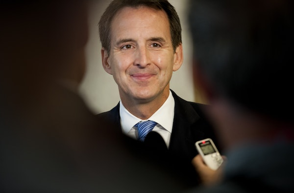 Former Minnesota Gov. Tim Pawlenty at the Republican National Convention in August 2012.