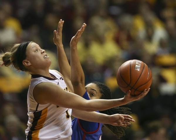 High-scoring Gophers guard Rachel Banham is the coaches' and media's pick for Big Ten player of the year.