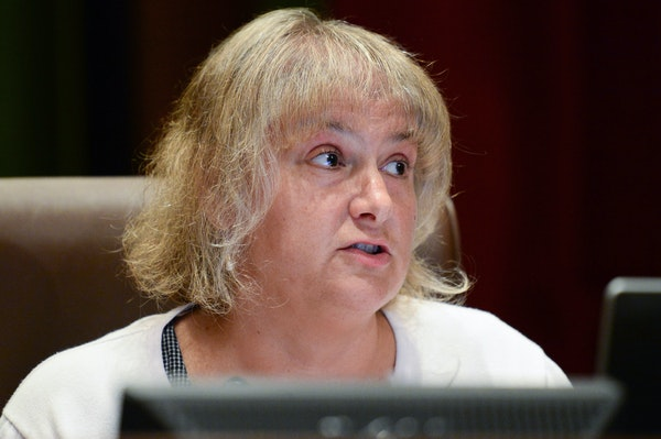 Minneapolis City Council member Lisa Goodman, shown in a file photo, who led the move to reduce the city's participation in Greater MSP.