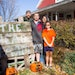 Brett and Julie Wegner of New Prague turn their house into a Halloween amusement park each October. They don't charge admission for their haunted hous
