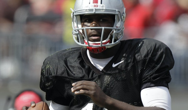 Cardale Jones, who has attempted 19 passes at Ohio State, will get his first start on Saturday against Wisconsin.
