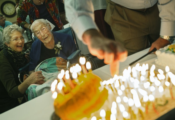 At Green Prairie Place senior housing in Plainview, Minnesota, Anna Stoehr celebrated her 114th birthday. She is the oldest Minnesotan alive and one o