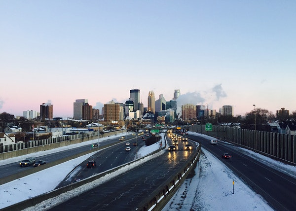 The Minneapolis skyline is looking good, despite temperatures near zero on Tuesday, Dec. 30, 2014.