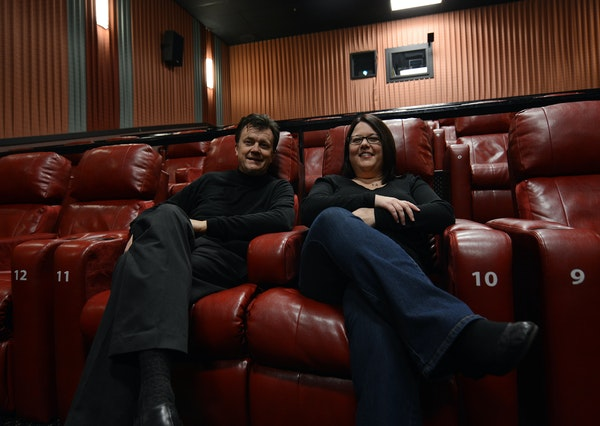 Jim Kotz, of Rosemount, and Kim Flynn, of Lakeville, are working to bring unique film events — a small-budget independent film and a classic film se