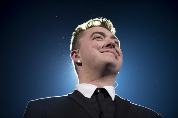 Sam Smith performed at the Roy Wilkins Auditorium at St. Paul RiverCentre.