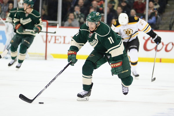 Minnesota Wild left wing Zach Parise will return to the team's lineup Saturday after missing two games to be with family mourning the loss of his fath