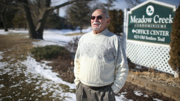 Mel Pittel has had a restraining order barring him from attending condo board meetings.