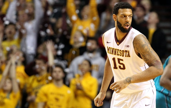 Mo Walker has shown flashes of being a dominant Big Ten inside force, but he needs to remain aggressive to have the impact the Gophers have expected f