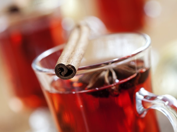 GlÖgg, or mulled wine with a Scandinavian twist, is a popular winter drink.