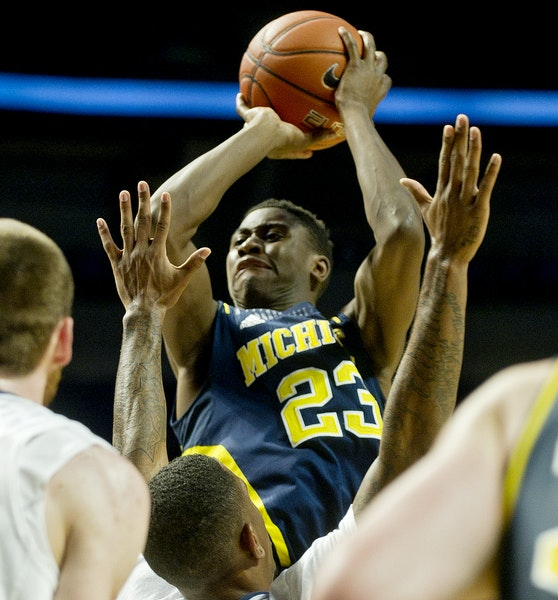 Preseason All-Big Ten pick Caris LeVert had a good game Tuesday at Penn State, but he had struggled mightily before that.