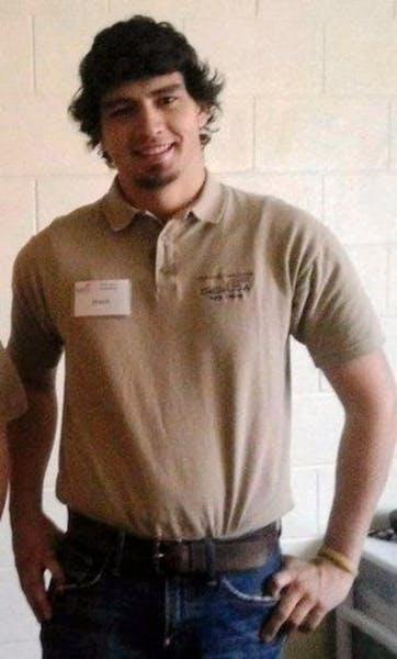 North Dakota State College of Science student Andrew Sadek