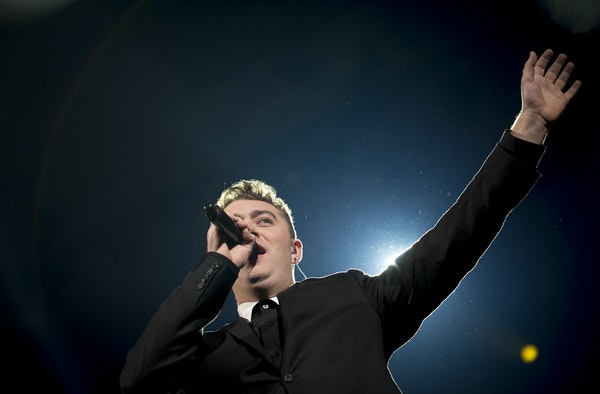 Sam Smith, the 22-year-old rising star from England, performed Saturday night at the Roy Wilkins Auditorium.