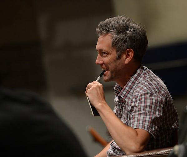 Auf dem Bild ist New Yorker Regisseur Richard Maxwell. Photo by Juri Junkov Haagener