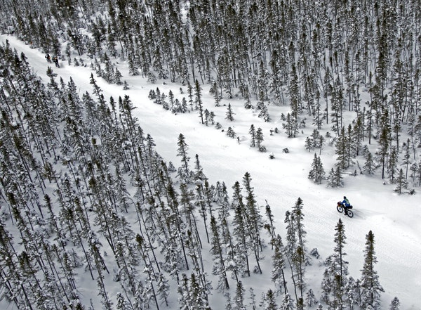 In the wilderness, Arrowhead 135 racers are on their own.
