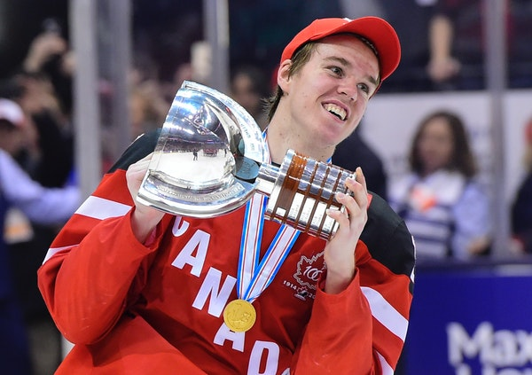 Connor McDavid is expected to be one of the top two picks in the NHL draft.