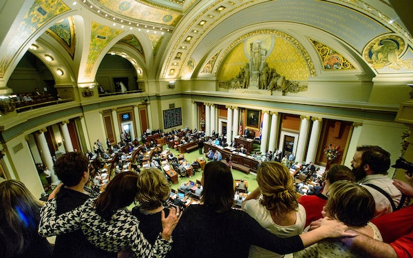 Advocates of medical marijuana were at the State Capitol last May when legislators passed the bill legalizing limited forms of medical marijuana for
