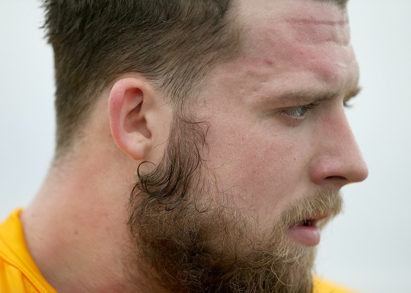 Quarterback Mitch Leidner