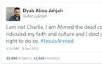 #JeSuisAhmed and #JeSuisDalia