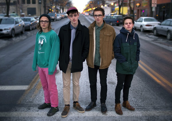 """Hippo Campus earned a """"band to watch"""" nod in NME magazine."""