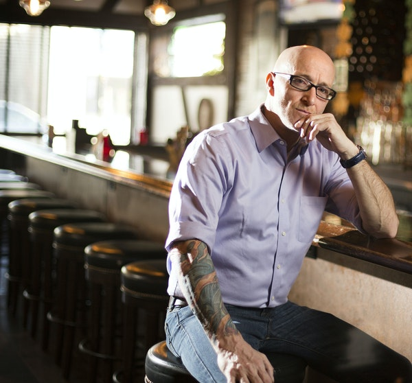 Paul Crilly, co-owner of Morrissey's Irish Pub, hails from Derry, Northern Ireland.