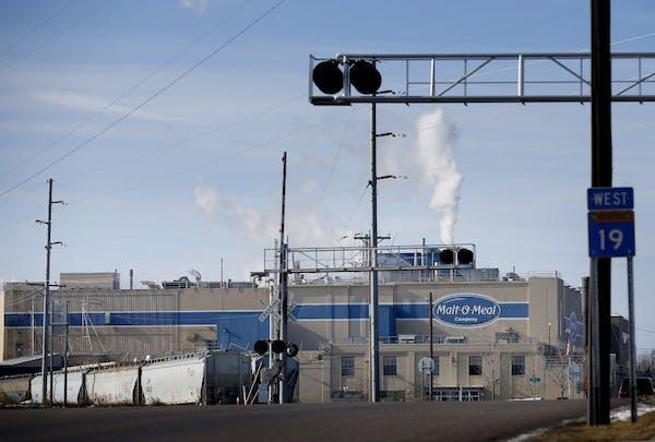 Malt-O-Meal factory in Northfield, Minn. on Monday. Post purchased MOM Brands (Malt-O-Meal) for $1.15 billion.