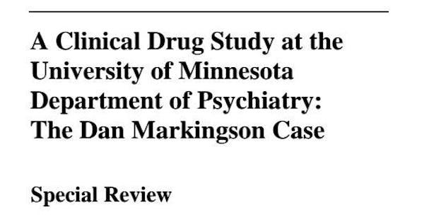 Read the full auditor's report on the Dan Markingson case