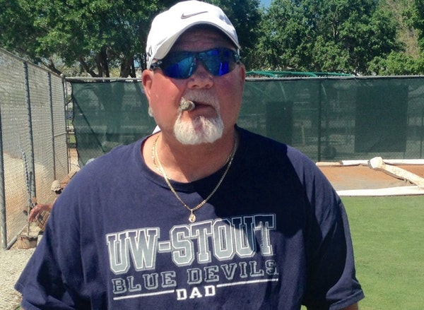 Ron Gardenhire visited Twins spring training on Tuesday.