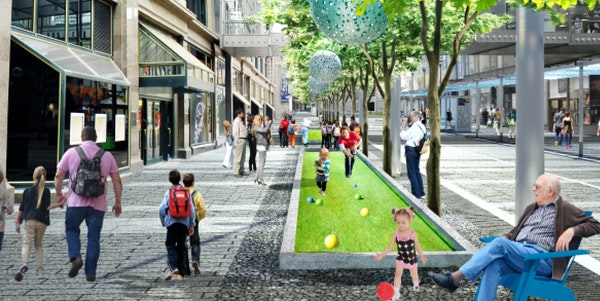 The Nicollet Mall redesign project draws some of Barbara Flanagan's strong opinions.
