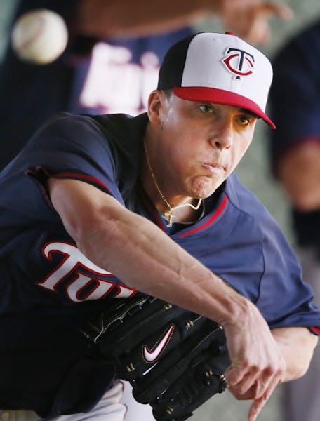 Twins pitcher Alex Meyer
